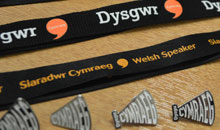 Welsh learners and speakers lanyards