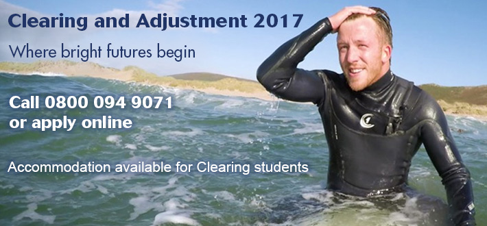 We have places available to late, clearing and adjustment applicants for 2017 on a range of courses.