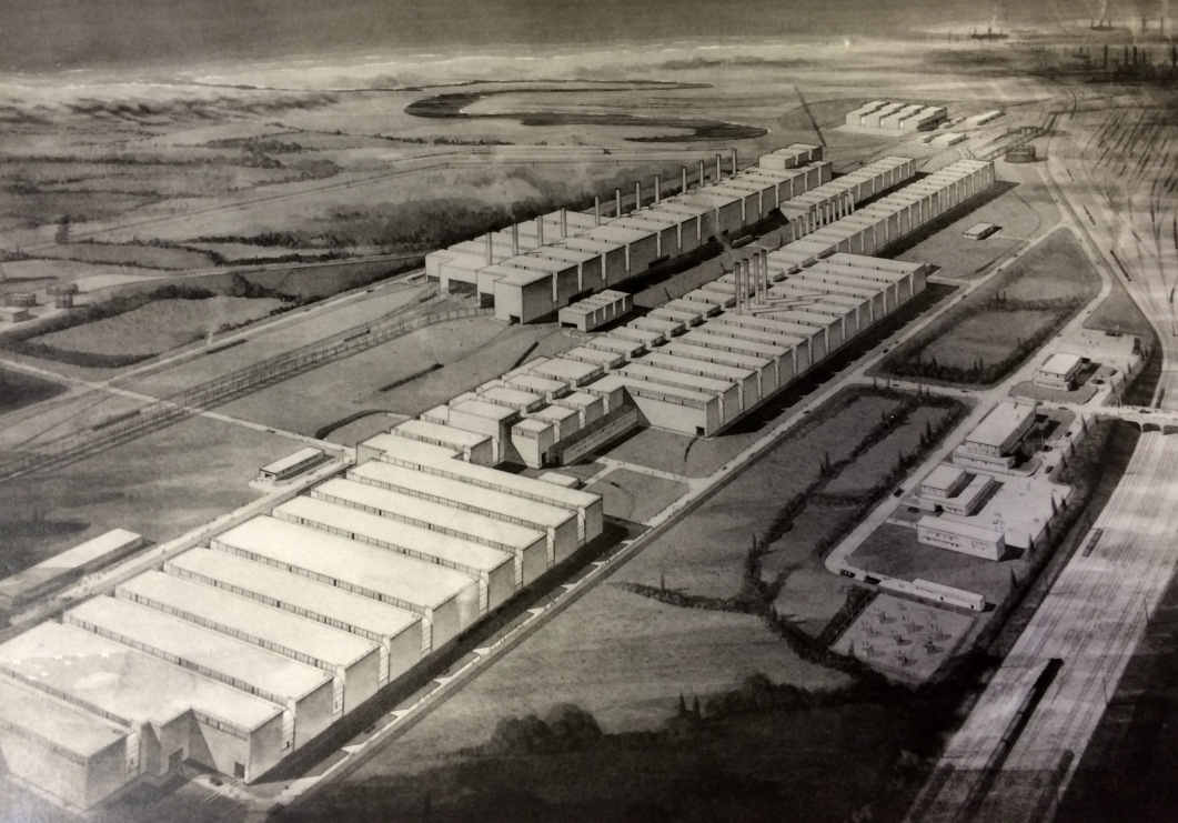 Port Talbot steel works - artist's impression