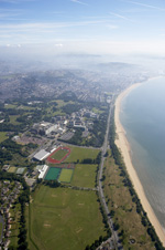 IPC Championships aerial view