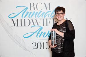 Annmarie Thomas RCM Student Midwife of the Year