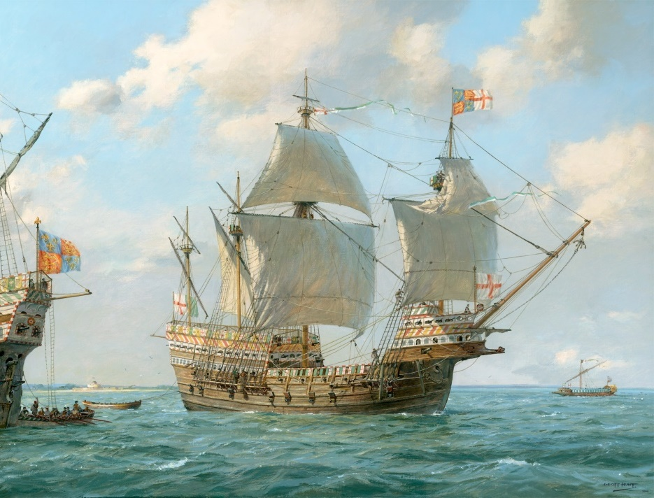Painting of Mary Rose