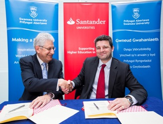 Swansea and Santander agreement