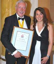 Shareen Doak at livery guild awards
