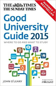 Times Sunday Times Good Uni Guide