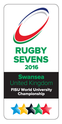 World University rugby 7's logo
