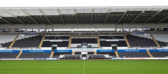 Liberty Stadium West Stand